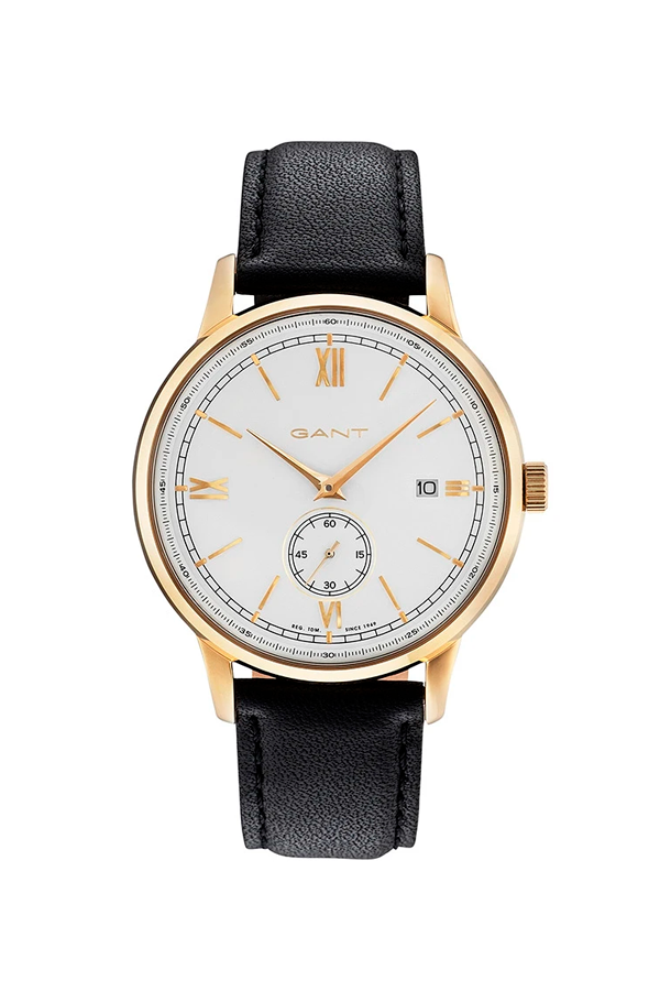 GANT Freeport Watch Black Leather