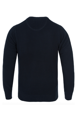 GANT Lambswool Pullover Navy