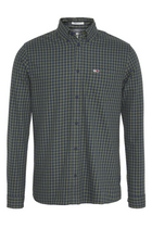 Tommy Jeans Regular Fit Gingham Shirt Green