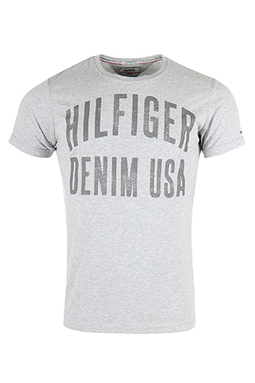 Hilfiger Denim Basic Tee Grey