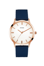 GUESS Canvas Strap Watch Navy
