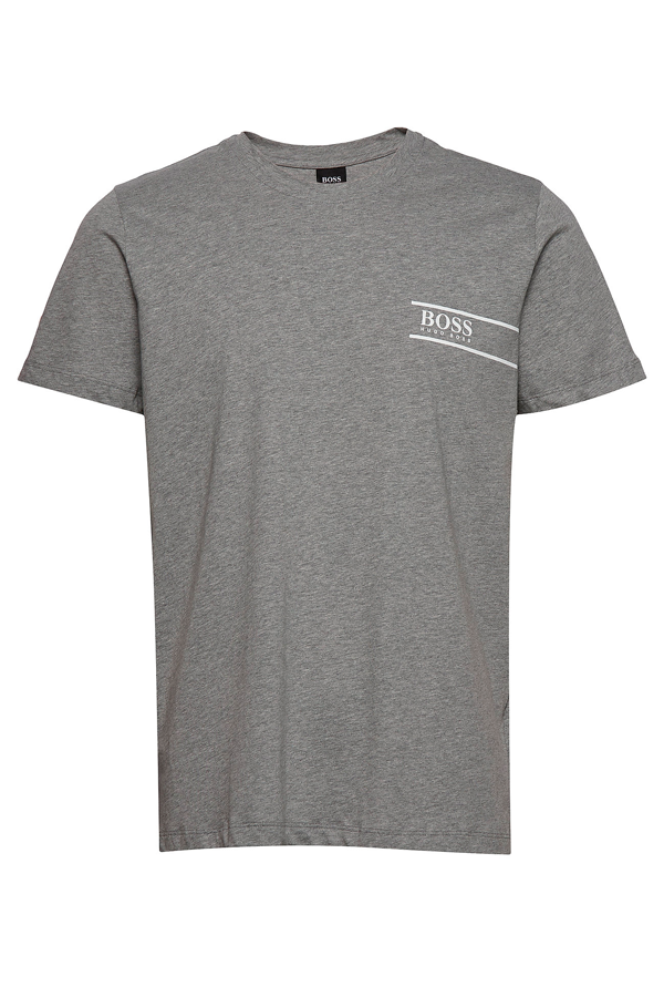 Hugo Boss Focus Logo Tee Grey