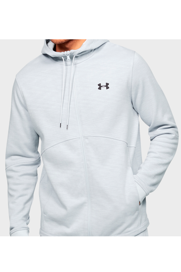 Under Armour Double Knit FZ Hoodie Grey