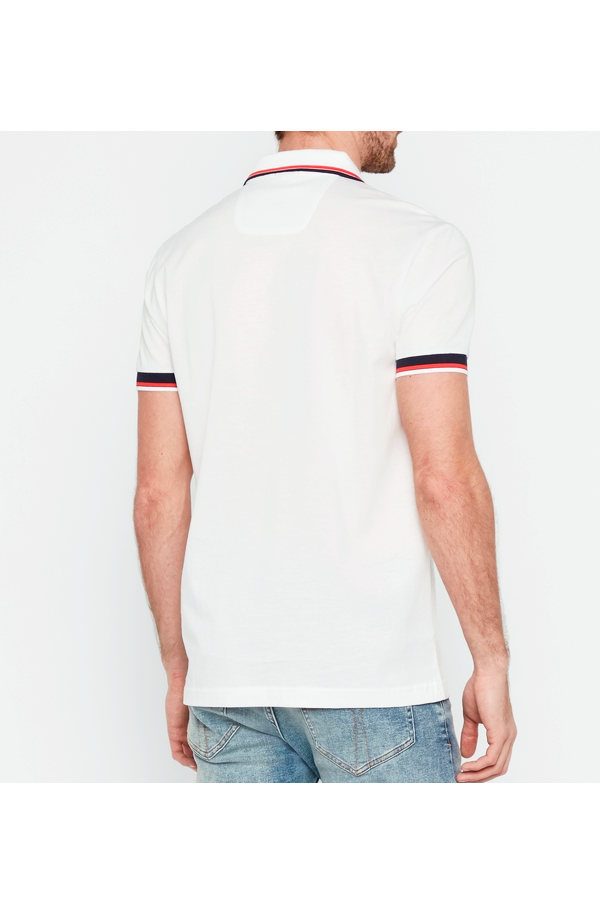 Hugo Boss AP1 Paddy Polo White