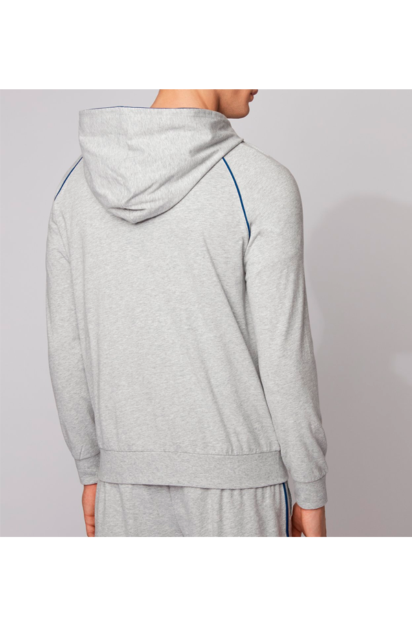 Hugo Boss Full Zip Hoodie Grey