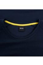 Hugo Boss Tape Logo Tee Navy