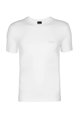 Hugo Boss RN Logo Tee White