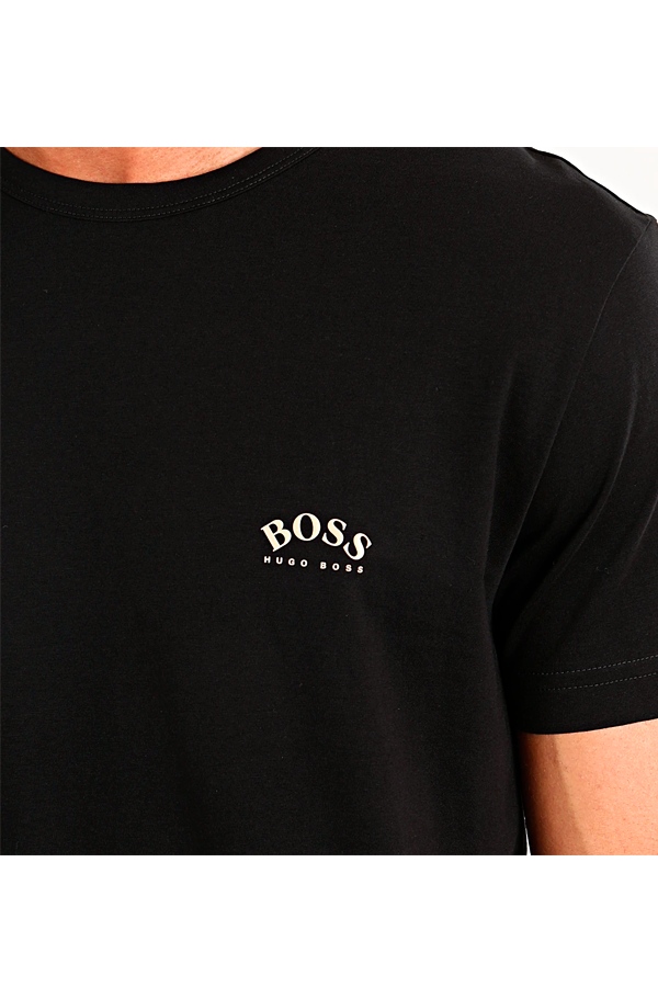 Hugo Boss Curved Logo S/S T-shirt Black