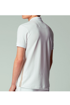 Hugo Boss Stretch Piqué Polo White