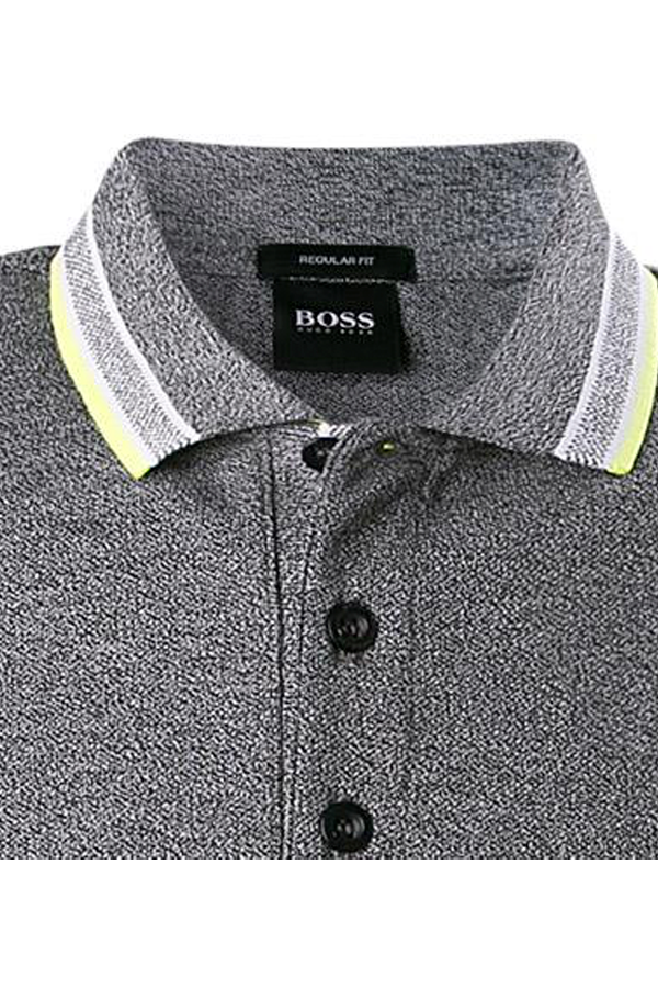 Hugo Boss Paddy Polo Melange Grey