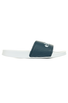 Ellesse Stripe Logo Slides White