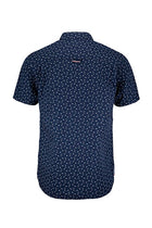 Hilfiger Denim Printed Short Sleeve Shirt Navy