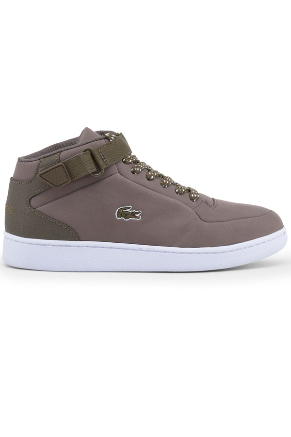 lacoste Lacoste turbo sport high sneakers light brown - 43 fra luxivo.dk