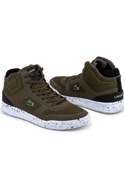 Lacoste Explorateur Sport High Sneakers Dark Green