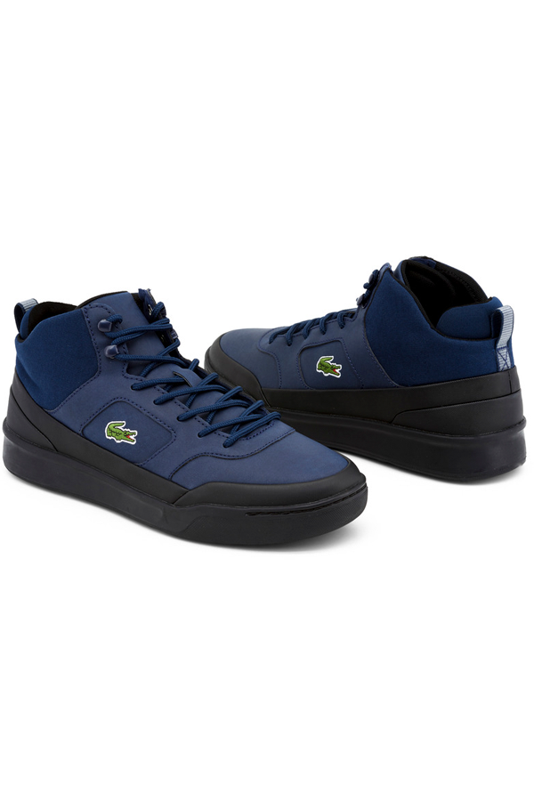 Lacoste Explorateur Sport High Sneakers Navy Black