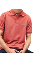 Lacoste Classic S/S Polo Piké Sierra Red