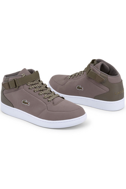Lacoste Turbo Sport High Sneakers Light Brown