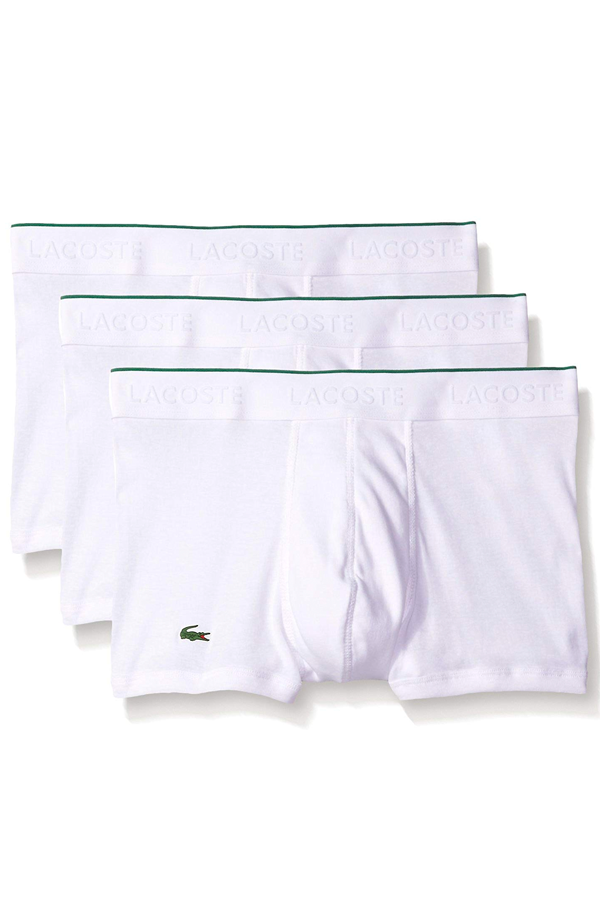 Lacoste Boxers 3-Pack White