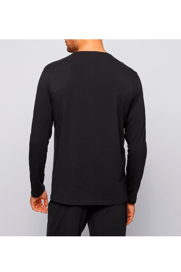 Hugo Boss Chest Logo L/S Tee Black