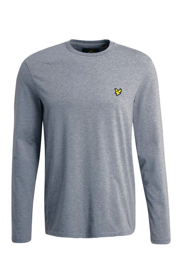 Image of   Lyle & Scott Longsleeve Tee Grey - L