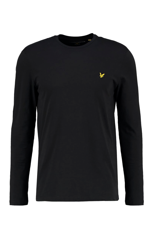 Image of   Lyle & Scott Longsleeve Tee Black - L