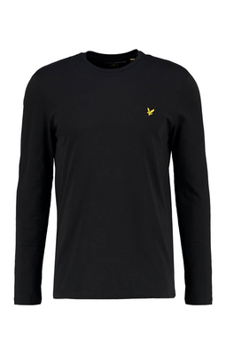 Lyle & Scott Longsleeve Tee Black