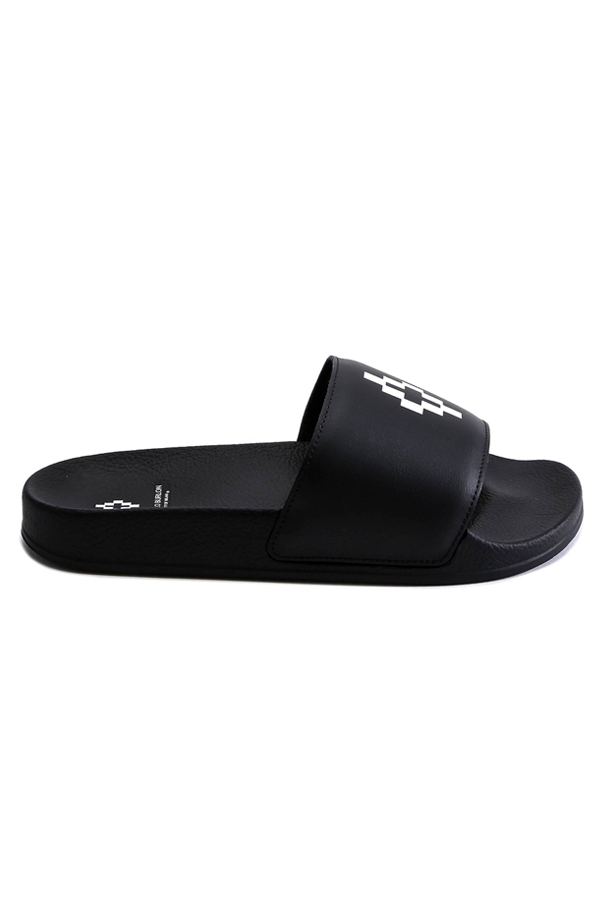 Marcelo Burlon Logo Slides Black