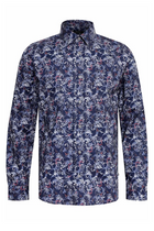 Matinique Bird Print Shirt Dusty Lilac