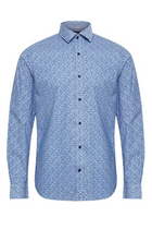 Matinique Matrostol B3 Flower Shirt Ink Blue