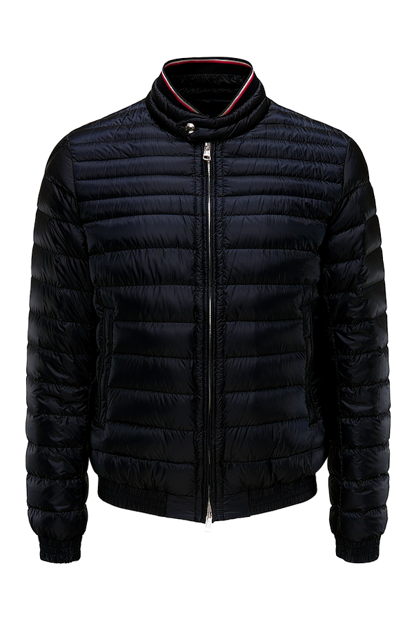 Image of   Moncler Garin Quilted Down Jacket Black - L