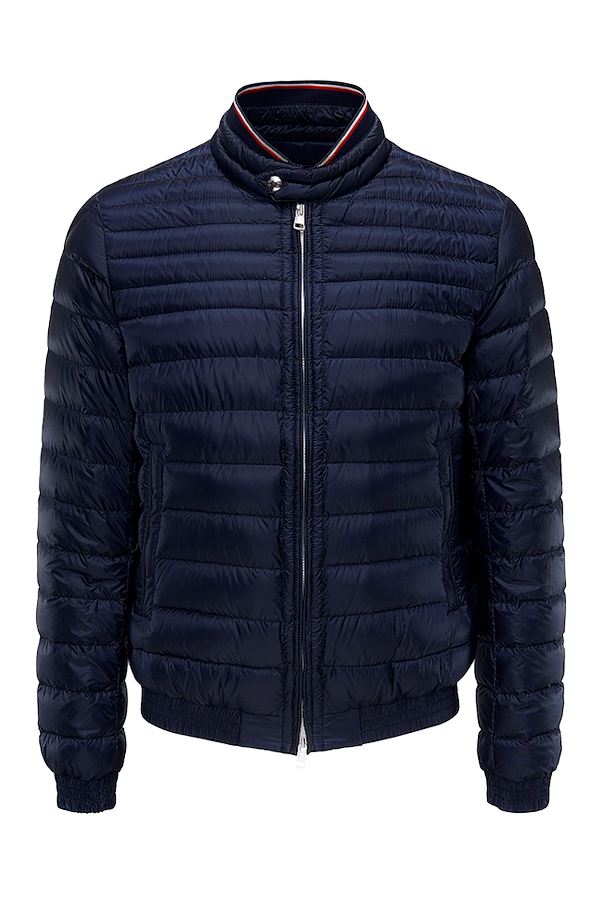 Image of   Moncler Garin Quilted Down Jacket Navy - L