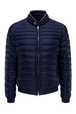 Moncler Garin Quilted Down Jacket Navy