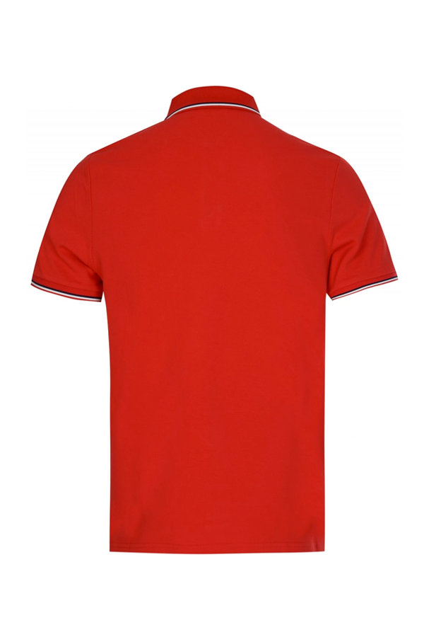 Moncler S/S Polo Shirt Red