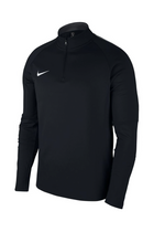 Nike Midlayer 1/4 Zip Academy Black