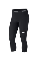 Nike Women 3/4 Swoosh Leggings Black