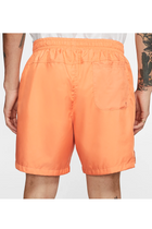 Nike Club Shorts Orange