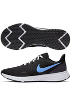 Nike Revolution 5 Black w. blue logo