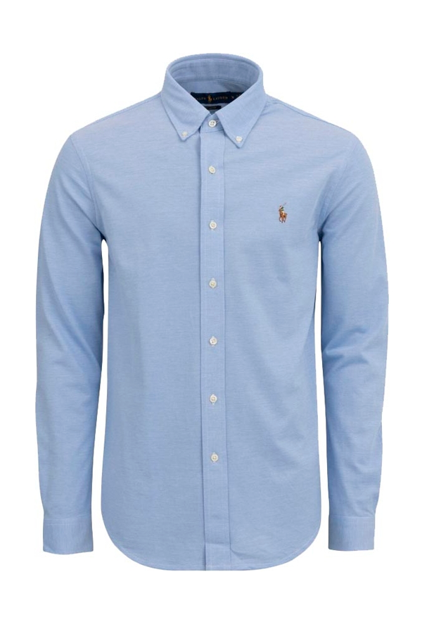 Ralph Lauren Oxford Pique Shirt Harbor Island