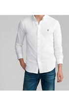 Ralph Lauren Oxford Pique Shirt White