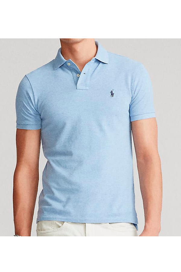 Ralph Lauren Slim Fit Polo Jamaica Blue