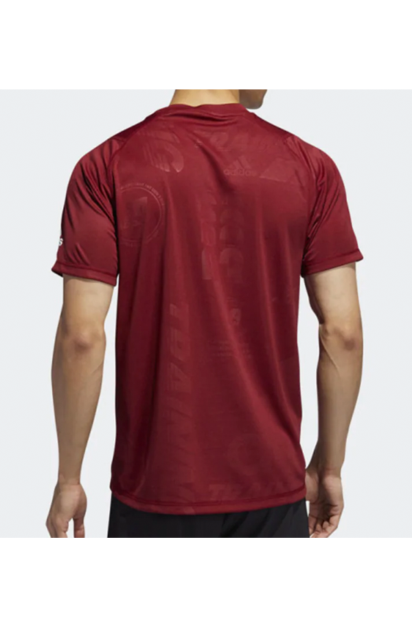 Adidas Freelift Press Tee Red