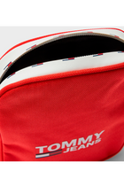 Tommy Jeans City Compact Crossbody Bag Red