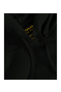 Ralph Lauren Cotton Hoodie Black