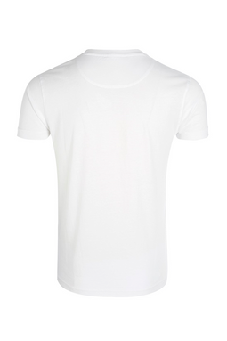 Roberto Cavalli Shield Tee White