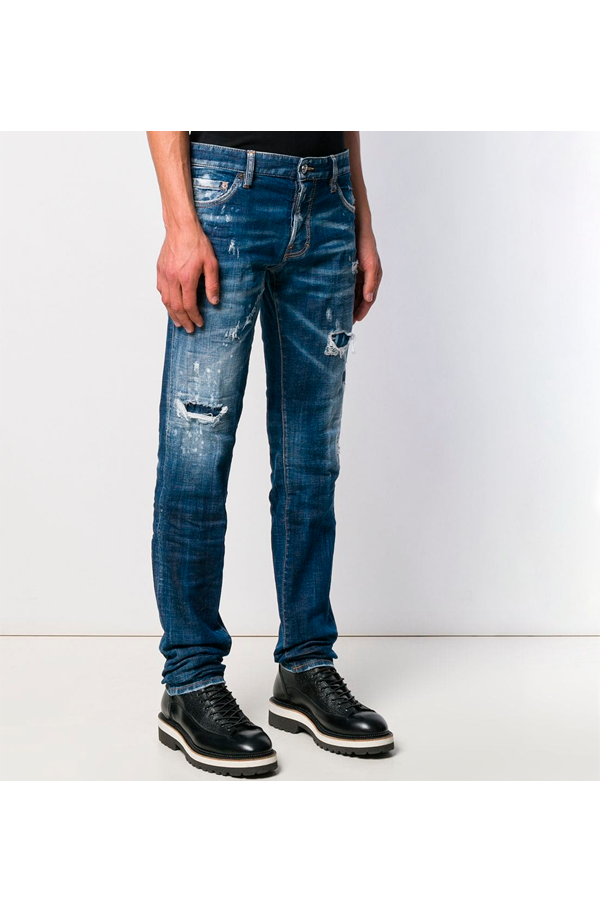 Dsquared2 Slim Jean Jeans Blue