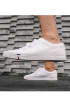 Tommy Hilfiger Leather Sneaker White