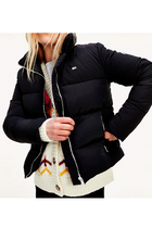 Tommy Hilfiger Women Modern Puffer Jacket Black
