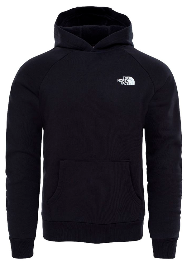 The North Face Red Box Logo Hoodie Black