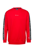 Champion Icon Tape Sweatshirt High Risk Red