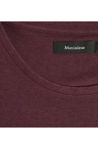 Matinique Cotton Stretch Tee Wine Red